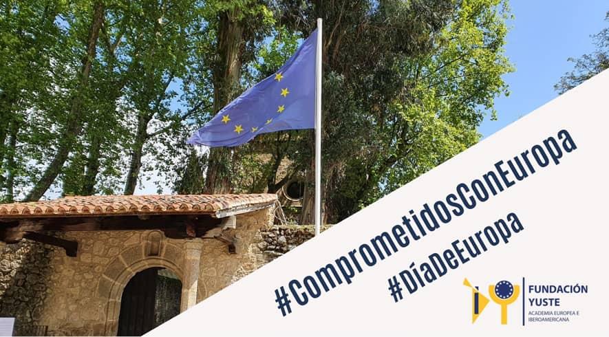 """La Fundación Yuste conmemora el Día de Europa con el vídeo """"Celebramos Europa"""""""